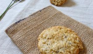 Biscuits à l'avoine, pavot et lavande