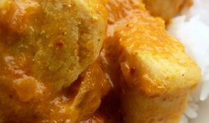 Curry tout doux Poulet Butternut