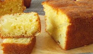 Cake aux jaunes d'oeuf
