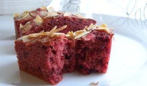 """Mini cakes """"karkadé"""" à l'hibiscus"""