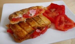 Croque tomate morbier