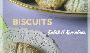 Biscuits Galak et Spéculoos