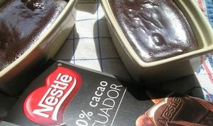 Fondant au chocolat Ecuador