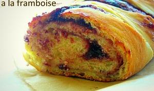 Coffee cake au fromage frais et confiture