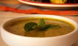 Sauce verte pour salade