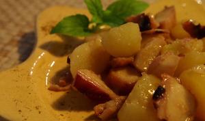 Salade de poulpes aux petites pommes de terre tièdes