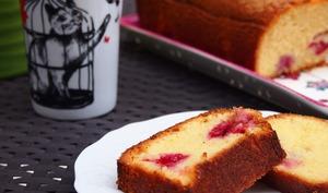 Cake aux frambroises