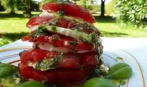 Tomate Mozzarella et Pesto