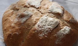 Pain à la farine de blé noir