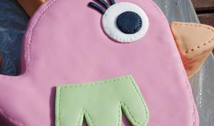 Gâteau d'anniversaire en forme de poule