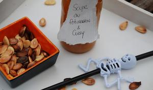 Soupe au Potimarron - Citrouille et Graines Torréfiées