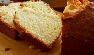 Cake moelleux aux jaunes d'oeufs