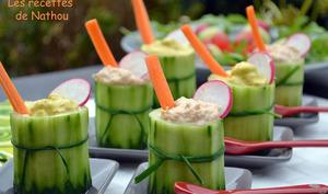 Verrines-concombre à manger de la tête aux pieds !