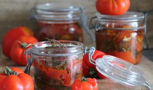 Tomates rôties à conserver