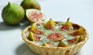 Tartelette de figues au roquefort