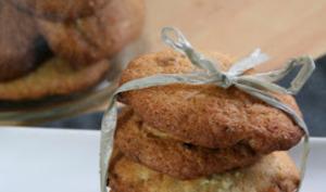 Cookies Noisettes et Chocolat Blanc