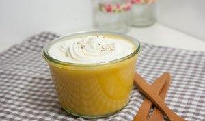 Velouté de butternut et chantilly de cèpes