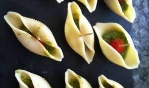 Conchiglioni Pesto et tomate