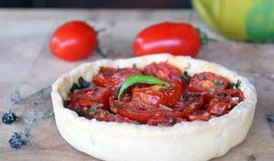 Tartelettes faciles aux tomates et au pesto