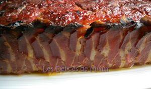 Pain de viande au lard fumé