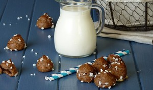 Chouquettes chocolatées