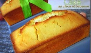 cake au citron et babeurre