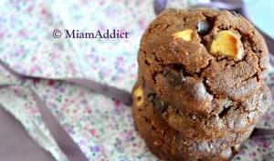 Cookies Tout Choco à l'huile de Coco
