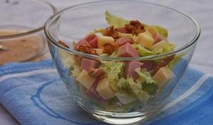 Salade d'automne au chou