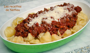 Gnocchi à la sauce bolognaise végétarienne