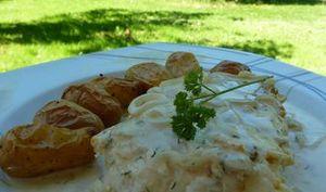 Filet de Loup sauce aux échalotes