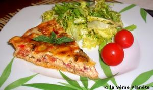 Quiche aux 2 tomates et 3 fromages