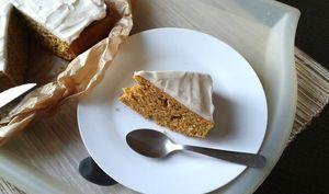 Gâteau au potiron à la vanille