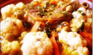 Tajine chou-fleur et carotte