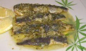 Sardines marinées à l'huile d'olive et au citron