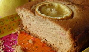 Cake au citron des gourmets à la MAP