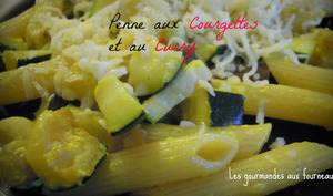 Penne au curry et courgette