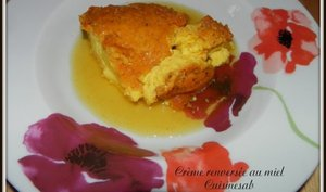 Crème renversée au miel