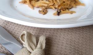 Trofie aux aubergines et sauce Riccota-Noci de Barilla