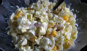 Salade d'automne vitaminée