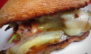sandwich aux aiguillettes de canard