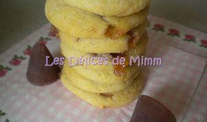 Cookies au chocolat blanc et aux cuberdons