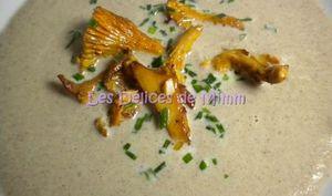 Soupe d'automne aux champignons