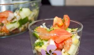 Salade orientalo-greco-espagnole
