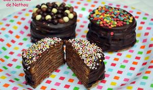 Mini gâteaux de crêpes