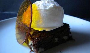 Brownies aux noix de Christophe Felder