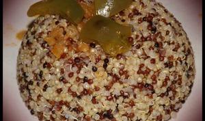 Trio de quinoa tandoori