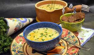 Soupe de Roscoff au kari gosse