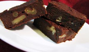 Brownies sans gluten à la patate douce