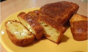 Cake chorizo feta