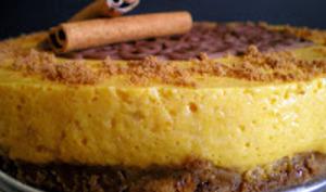 gâteau au potimarron et cannelle
